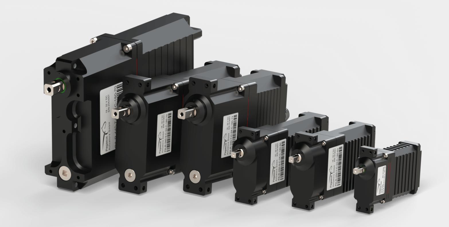 Pegasus Actuators GmbH - Industrial Servo - Actuators