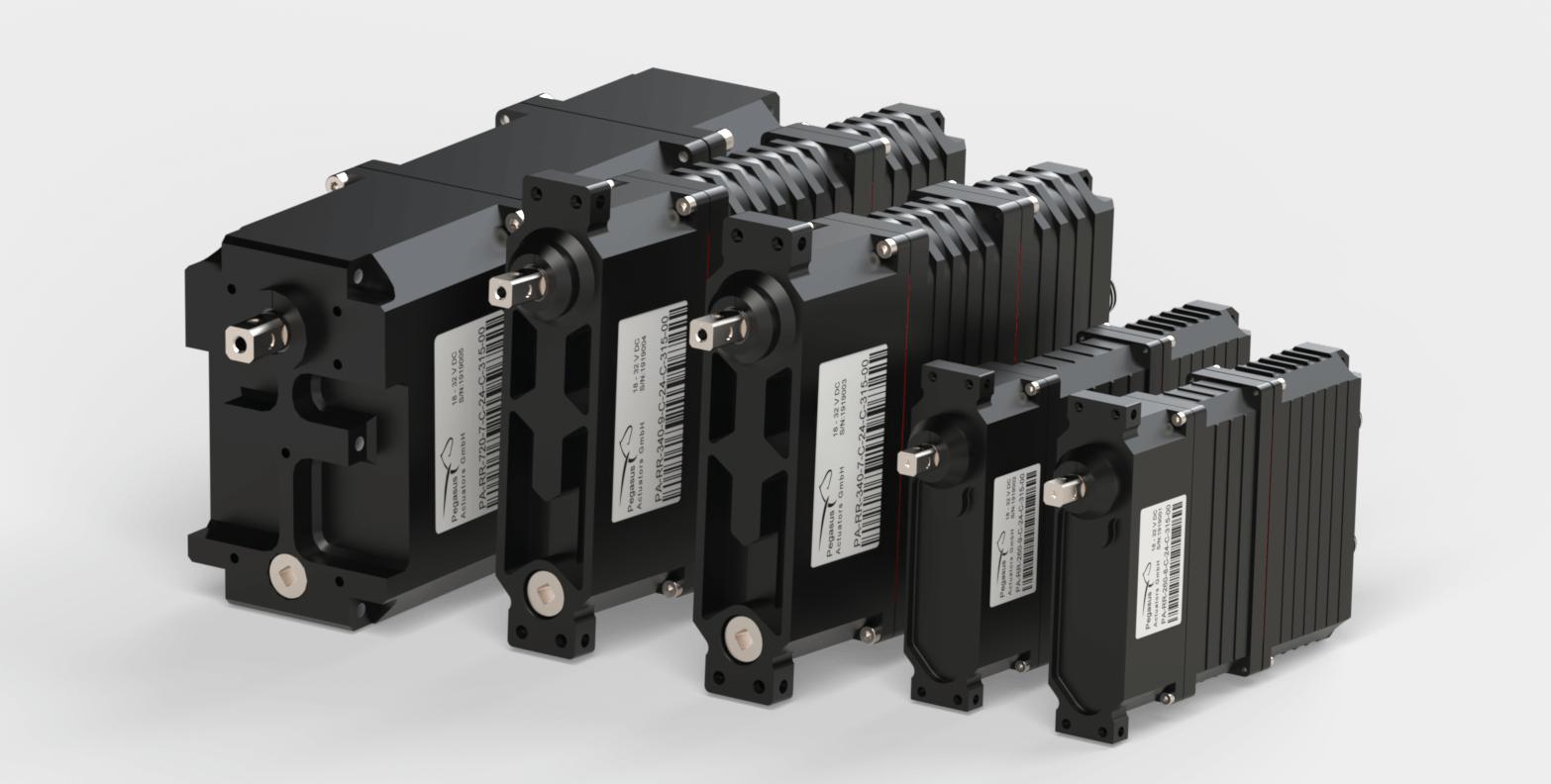 Pegasus Actuators GmbH - Redundant Servo - Actuators